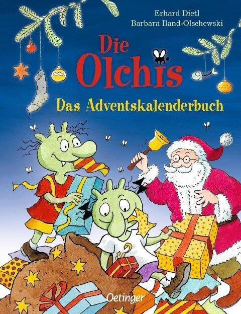Die Olchis. Das Adventskalenderbuch - Erhard Dietl