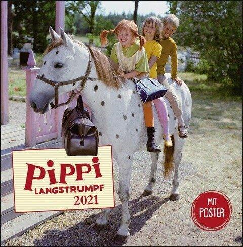 Pippi Langstrumpf Broschurkalender 2021 -