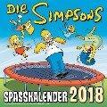 Simpsons Wandkalender 2018 - Matt Groening