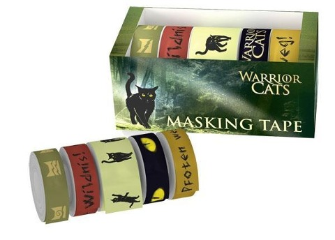 Warrior Cats - Masking Tape - Erin Hunter