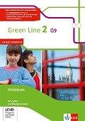 Green Line 2 G9. Workbook mit Audio CD und Übungssoftware. Neue Ausgabe -
