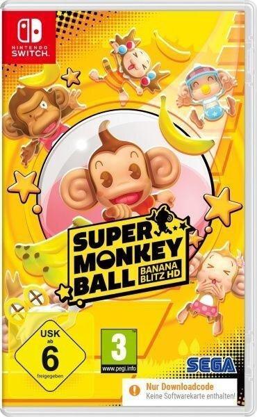 Super Monkey Ball Banana Blitz HD (Nintendo Switch) (Code in a Box) -
