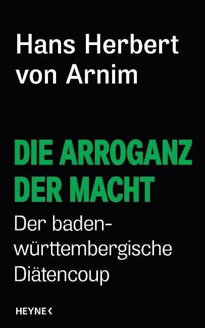 Die Arroganz der Macht - Hans Herbert von Arnim
