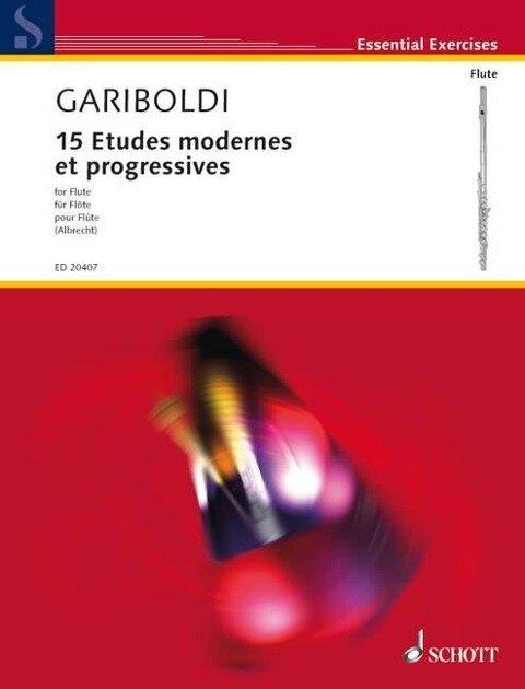15 Etudes modernes et progressives - Giuseppe Gariboldi