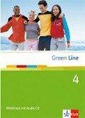 Green Line 4. Workbook mit Audio CD - Marion Horner, Jennifer Baer-Engel, Elizabeth Daymond