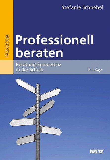Professionell beraten - Stefanie Schnebel