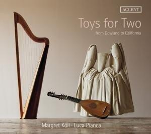Toys for Two-Werke für Harfe & Laute - Margret/Pianca Köll
