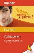 Verbtabellen Spanisch - Trinidad Bonachera Álvarez