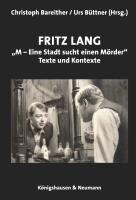 """Fritz Lang: """"M - eine Stadt sucht einen Mörder"""" -"""