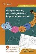 Vorlagen Geburtstagskalender, Regelbaum, Abc u. Co -
