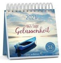 Postkartenkalender 365 Tage Gelassenheit 2021 -