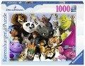 DreamWorks Familie 1000 Teile Puzzle -