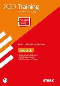 STARK Training Abschlussprüfung Realschulabschluss 2020 - Deutsch - Sachsen -