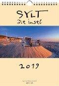 Sylt - die Insel 2019 A4 Wandkalender Hochformat - Gernot Westendorf