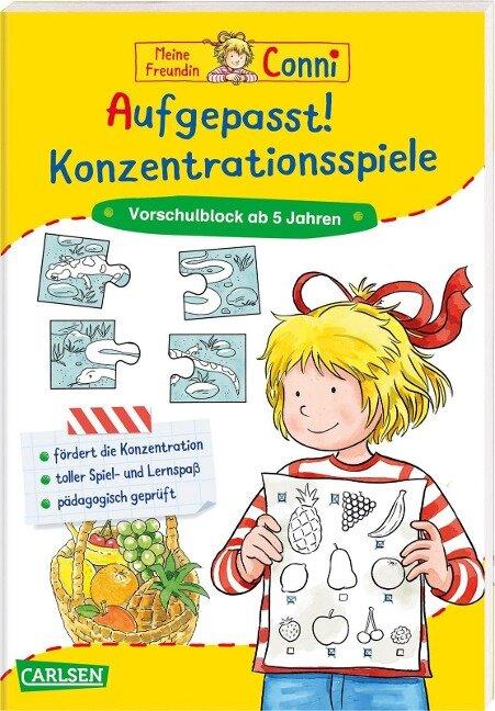 Aufgepasst! Konzentrationsspiele - Hanna Sörensen