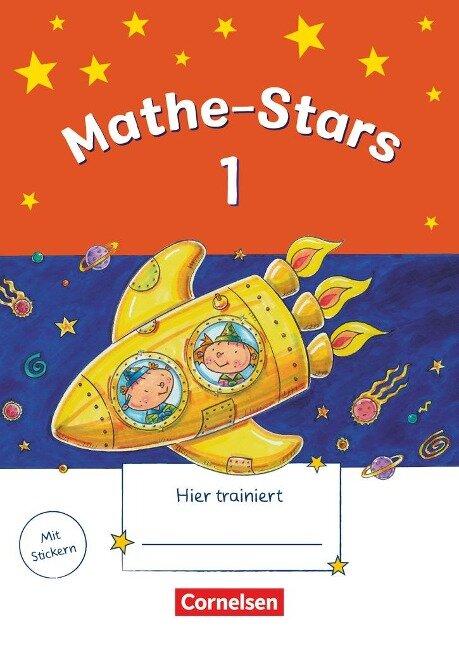 Mathe-Stars 1. Schuljahr. Übungsheft mit Lösungsheft - Werner Hatt, Petra Ihn-Huber, Stefan Kobr, Ursula Kobr, Elisabeth Plankl