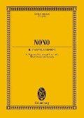 Il canto sospeso - Luigi Nono