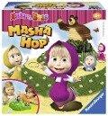Masha and the Bear Masha Hop Lustige Kinderspiele -