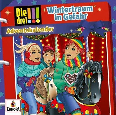 Die drei !!! - Wintertraum in Gefahr (2 Audio-CD's) - Adventskalender - Mira Sol