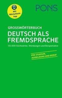 PONS Großwörterbuch Deutsch als Fremdsprache -