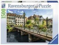 Sommerliches Straßburg. Puzzle 1500 Teile -