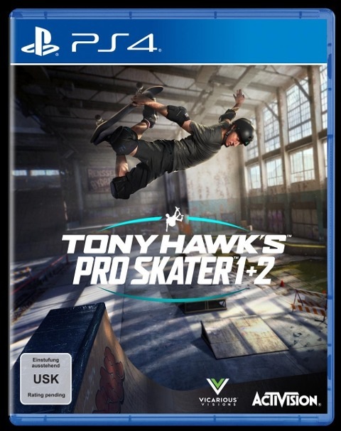 Tony Hawk's Pro Skater 1+2 (PS4) -