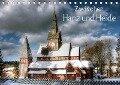 Zwischen Harz und Heide (Tischkalender 2018 DIN A5 quer) - Kordula Uwe Vahle