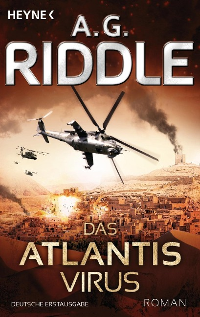 Das Atlantis-Virus - A. G. Riddle