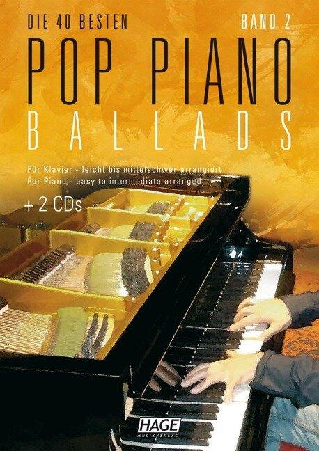 Pop Piano Ballads 2 -