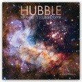 Hubble Space Telescope - Hubble-Weltraumteleskop 2019 - 16-Monatskalender -