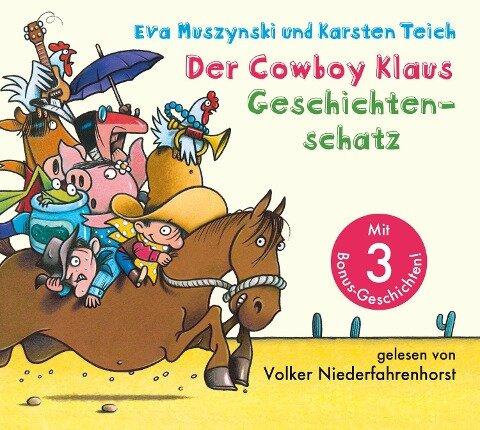 Der Cowboy Klaus Geschichtenschatz - Eva Muszynski, Karsten Teich