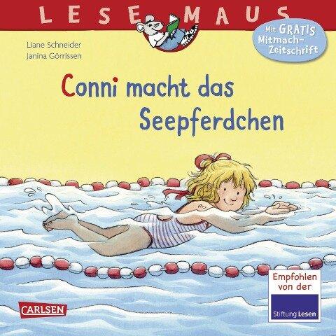 Conni macht das Seepferdchen (Neuausgabe) - Liane Schneider