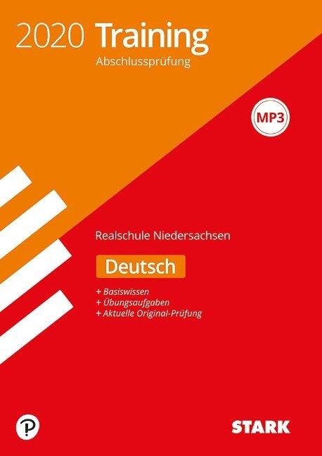 Training Abschlussprüfung Realschule 2020 - Deutsch - Niedersachsen -