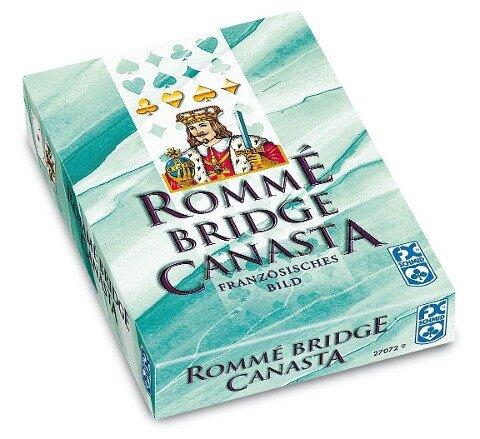 Rommé, Canasta, Bridge -