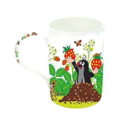 "Lieblingstasse ""Der kleine Maulwurf"" - Erdbeere -"