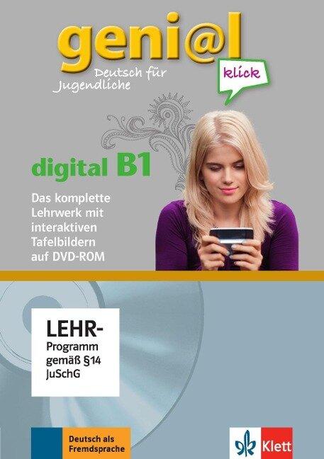geni@l klick. Lehrwerk Digital mit interaktiven Tafelbildern DVD-ROM B1 - Sarah Fleer, Susy Keller, Michael Koenig, Ralf-Peter Lösche, Maruska Mariotta