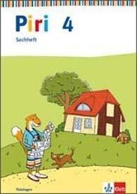 Piri Sachheft. Arbeitsheft 4. Schuljahr. Ausgabe für Thüringen -