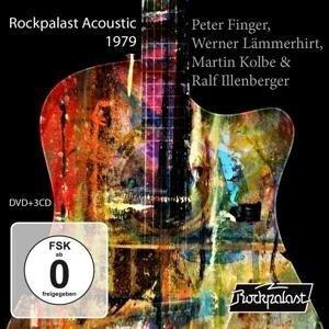 Rockpalast Acoustic 1979 (3CD+DVD) - Werner Lämmerhirt Peter Finger
