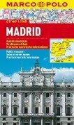 MARCO POLO Cityplan Madrid 1 : 15.000 -