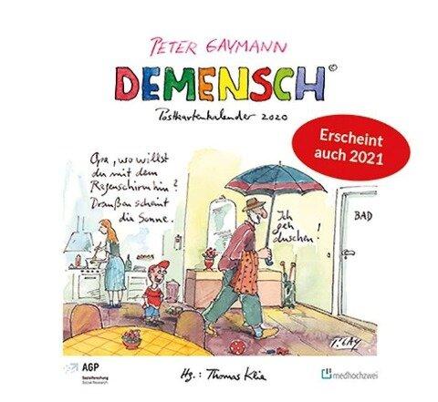 Demensch. Postkartenkalender 2021 - Thomas Klie