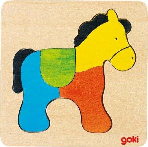 Einlegepuzzle Pferd -
