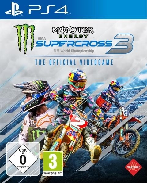 Monster Energy Supercross - The Official Videogame 3 (PlayStation PS4) -
