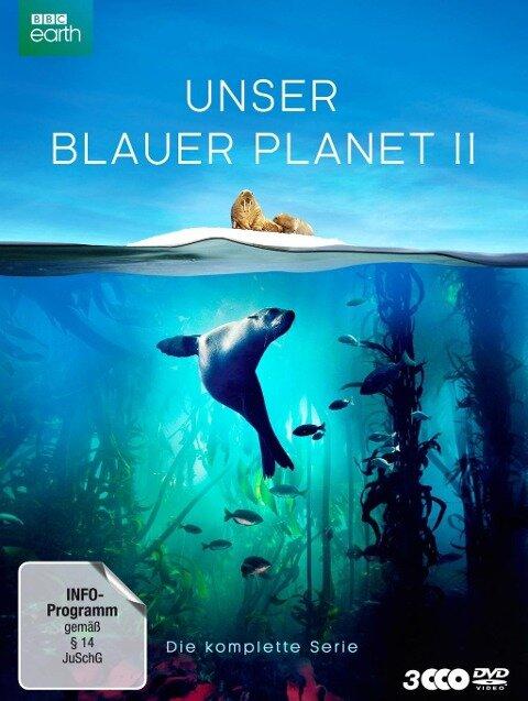 """UNSER BLAUER PLANET II - Die komplette ungeschnittene Serie zur ARD-Reihe """"Der blaue Planet"""" -"""