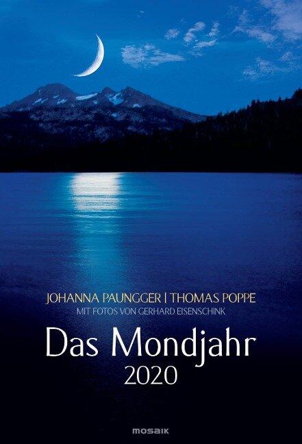 Das Mondjahr 2020 Wandkalender - Johanna Paungger, Thomas Poppe