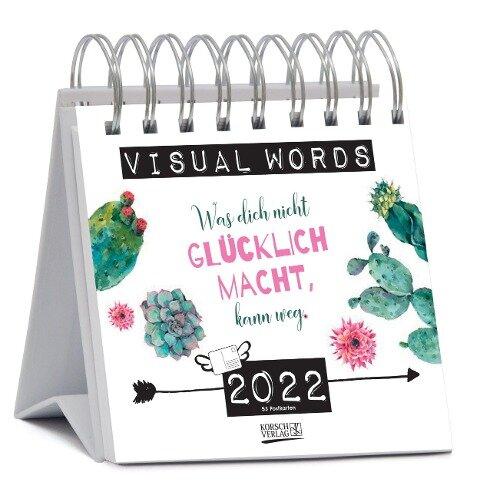 Visual Words Aquarell 2022 -