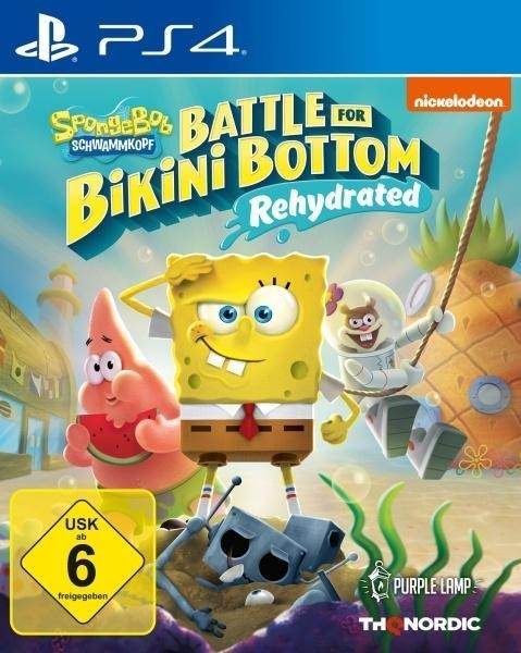 Spongebob SquarePants: Battle for Bikini Bottom - Rehydrated (PlayStation PS4) -