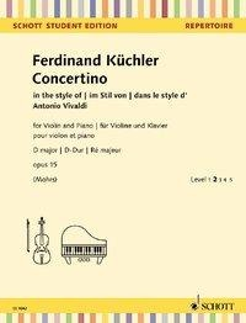 Concertino D-Dur - Ferdinand Küchler