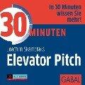 30 Minuten Elevator Pitch - Joachim Skambraks