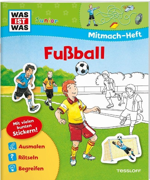 Mitmach-Heft Fußball - Birgit Bondarenko