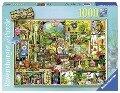 Grandioses Gartenregal Puzzle 1000 Teile -